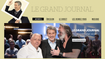 CANAL + Le Grand Journal